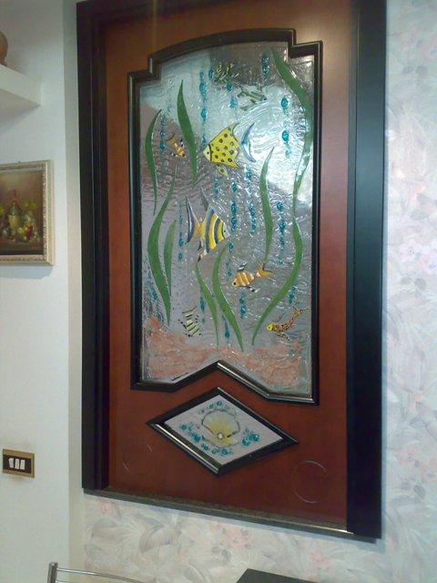 vetrate d'arte - vetrate artistiche e sacre - produzione e vendita ... - Disegni Moderni Per Porte In Vetro